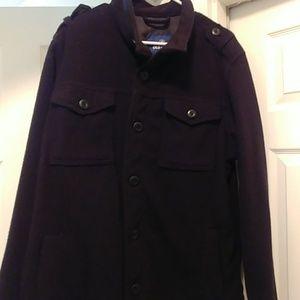 Old Navy Fleece Pea coat style Jacket